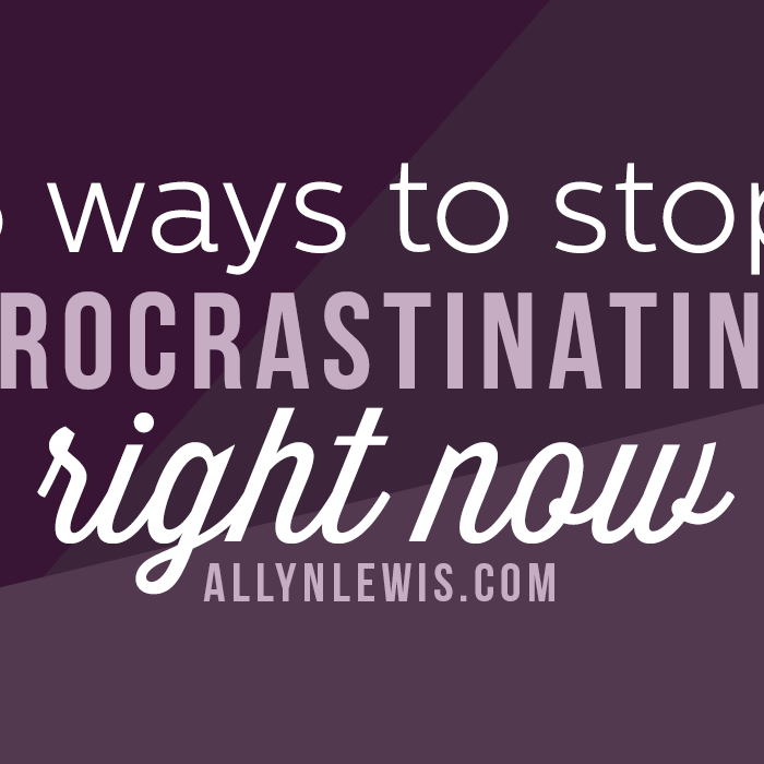 5 Ways to Stop Procrastination