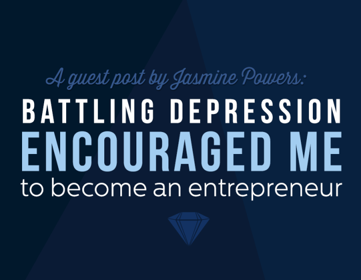 """Being an entrepreneur battling depression has been a journey but one that I will continue winning."""