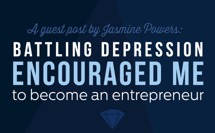 """""""Being an entrepreneur battling depression has been a journey but one that I will continue winning."""""""