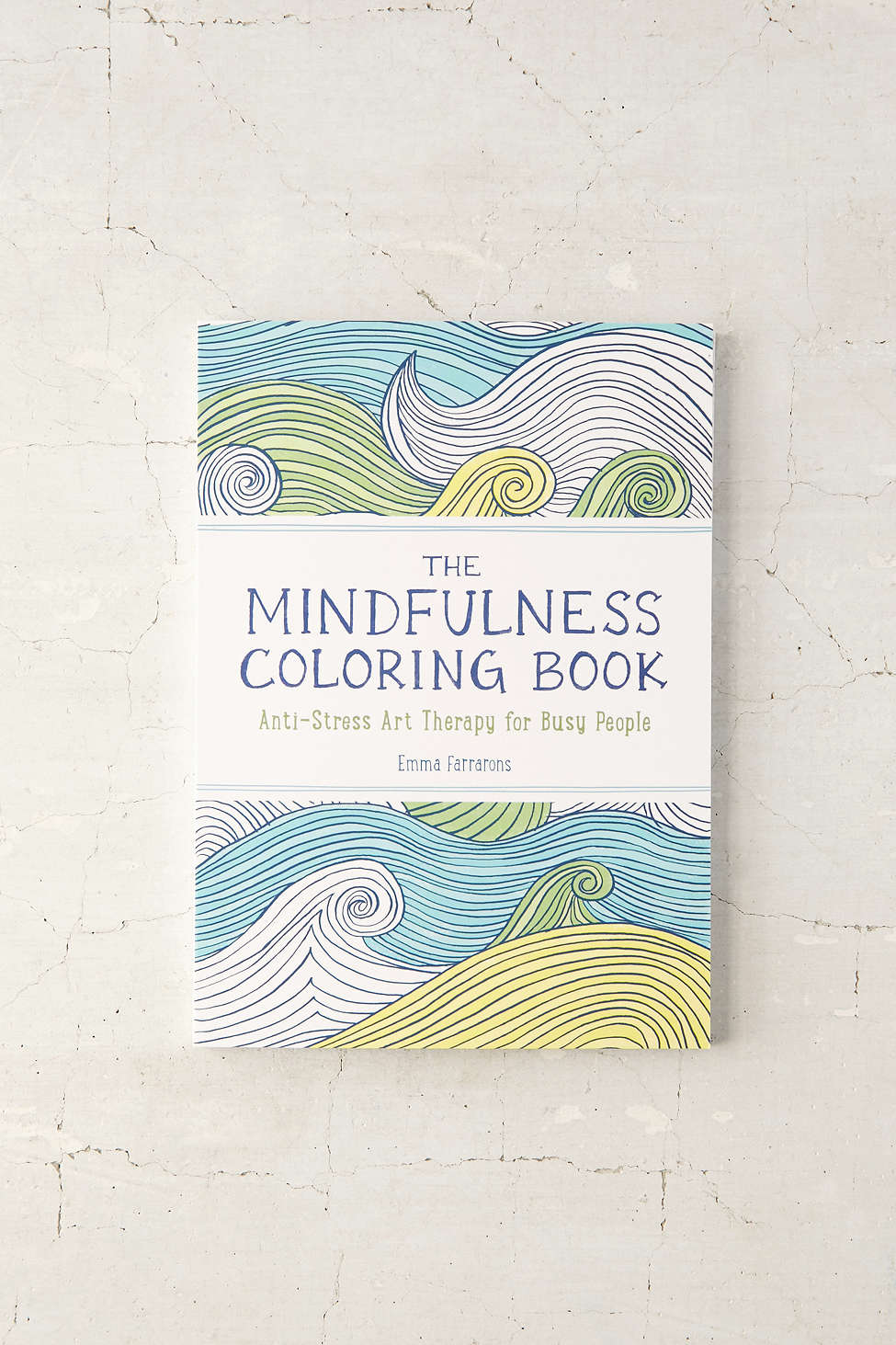 15 Little Things Every Person With Anxiety Needs - Coloring Book from Urban Outfitters