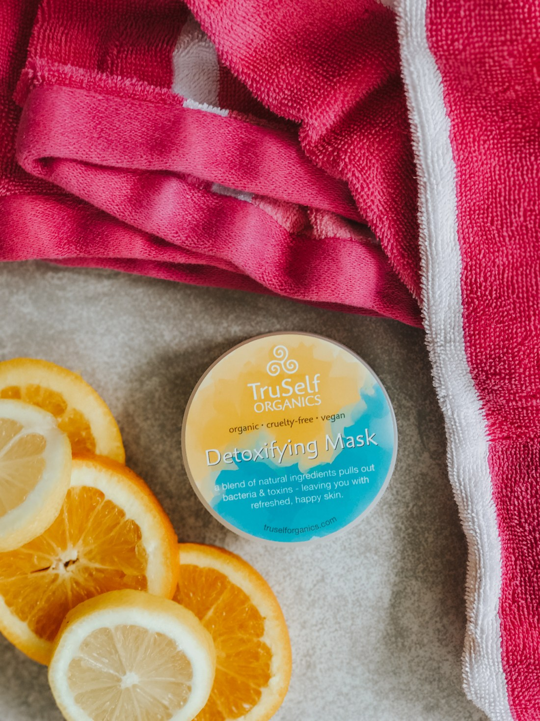 ($19) TruSelf Organics Detoxifying Mask, Organic Skincare, leaping bunny certified, cruelty-free skincare, cruelty-free brands | @truselforganics