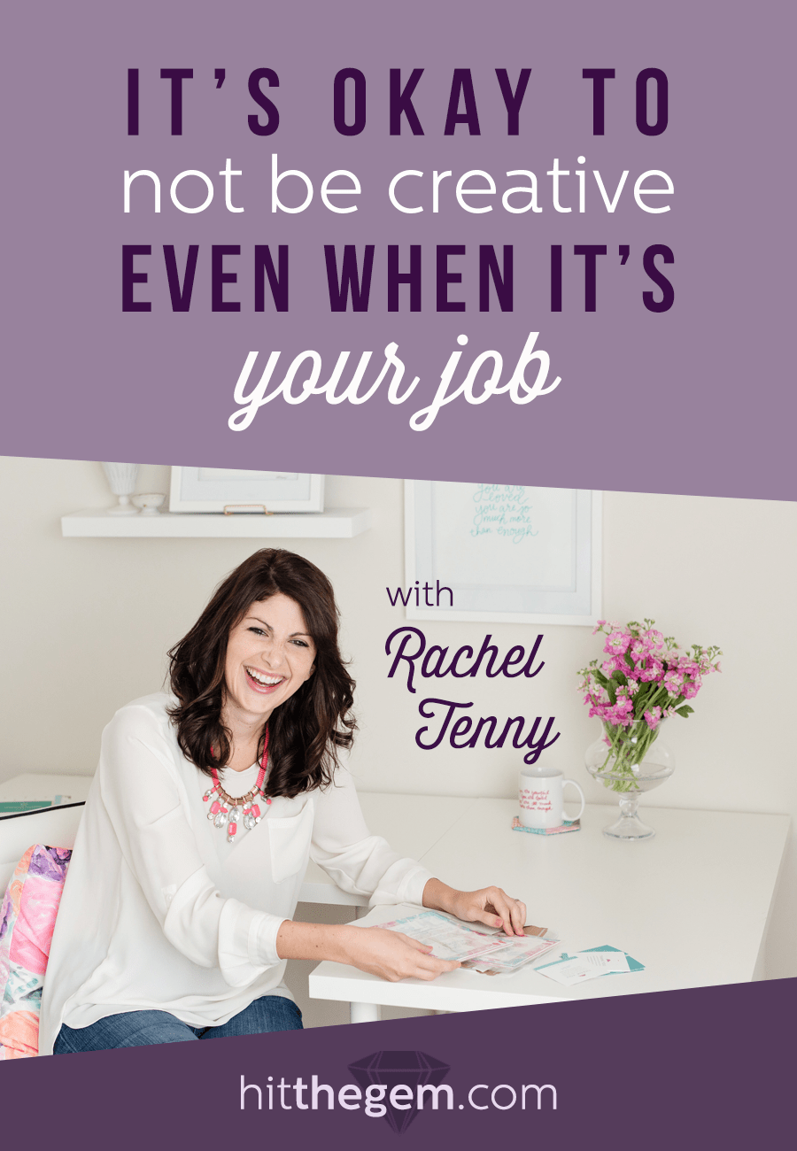 Artist & Mental Health Counselor Rachel Tenny explains the cycle of creativity and how it relates to mental health for creatives. Inside you'll learn that it's both normal and okay to have periods of time when you don't want to create.