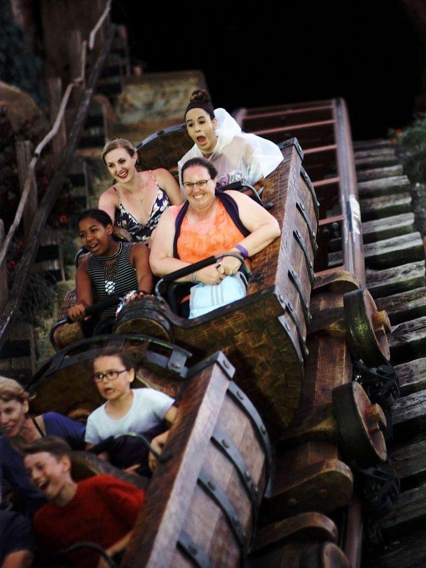The Seven Dwarfs Mine Train Roller Coaster at Magic Kingdom, Walt Disney World