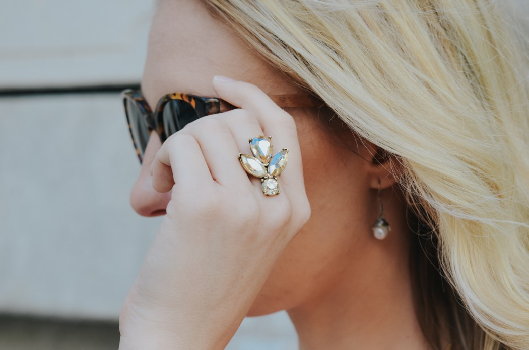 Statement ring from 7 Charming Sisters