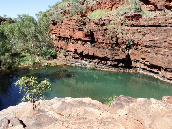 Base of Fortescue Falls