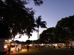The Broome Staircase to the moon night market