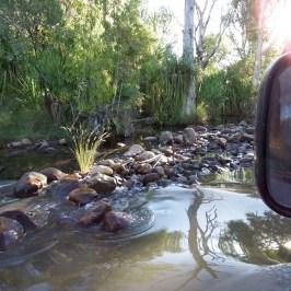 Pentecoste river crossing at El Questro