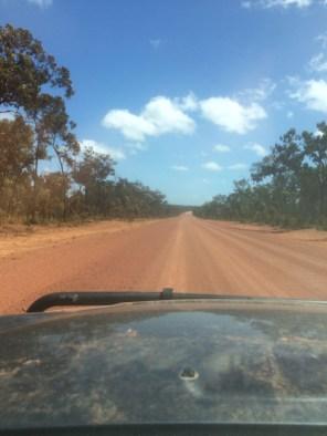 A lot of dusty roads