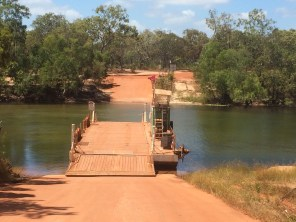 The Jardine River Ferry Crossing
