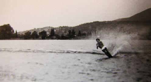 DS skiing-1971-still b&w