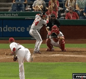 Bryce Harper VIDEO: NOT springy loaded