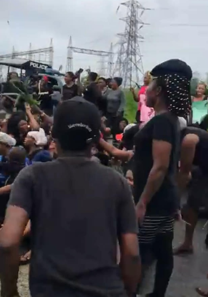 Rivers: More protest on-going in Oyigbo LGA | Hitvibz
