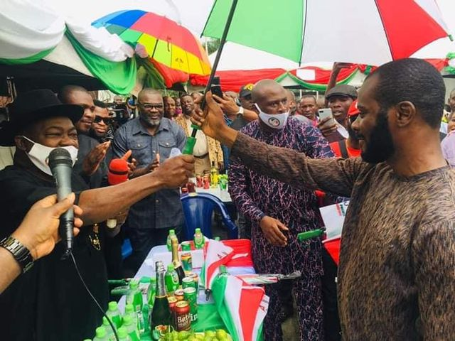 Hon. Promise Nwankwo returns to PDP