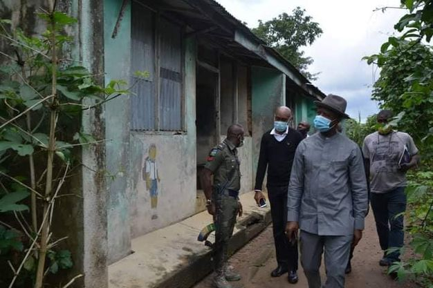 RSG pledges to rebuild abandoned Umuagbai police station at Ndoki