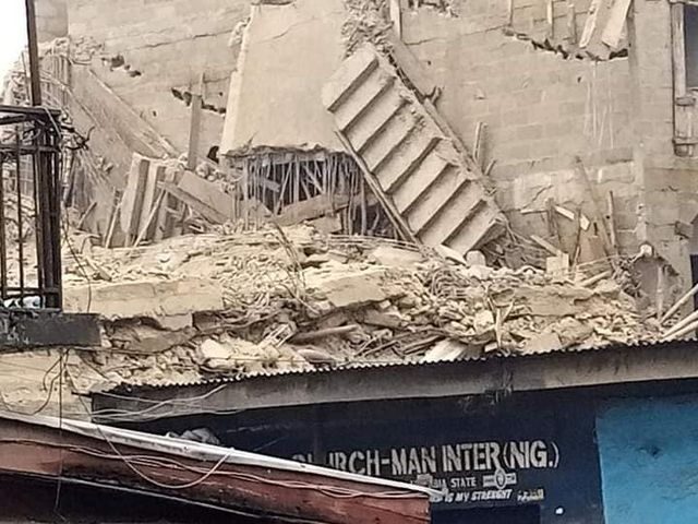 building collapses in Aba