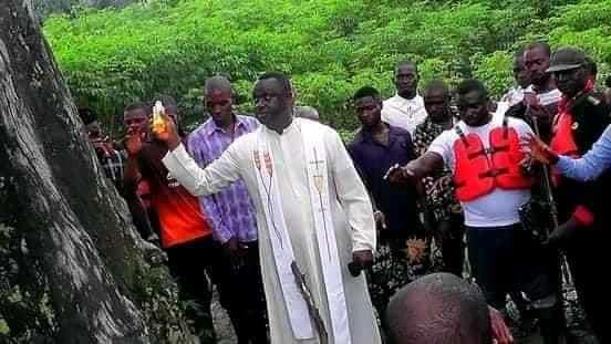 Rev. Fr. Abel, Pastor Kooko Pius