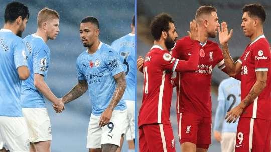 Premier League: Manchester City 1-1 Liverpool