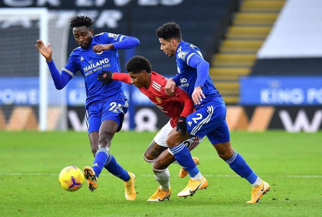 Premier League: Leicester City 2-2 Manchester United