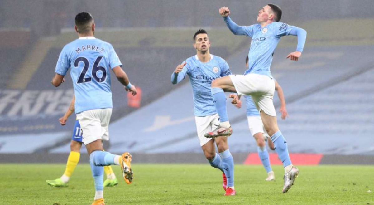 Premier League: Manchester City 1-0 Brighton and Hove Albion