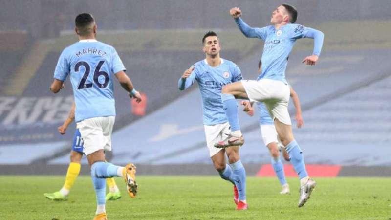 Premier League: Manchester City 1-0 Brighton and Hove Albion