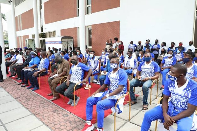 If you win CAF cup, your lives will change – Wike tells Rivers United players