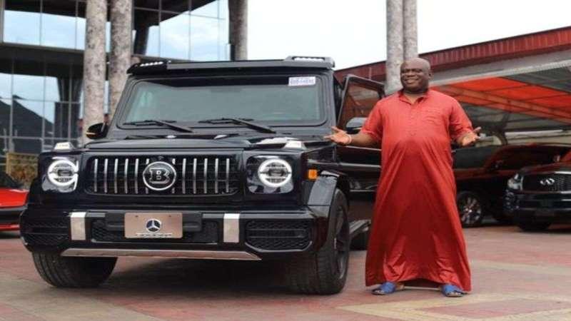 Sen Ifeanyi Uba gift OPM Pastor Bulletproof limousine G-Wagon