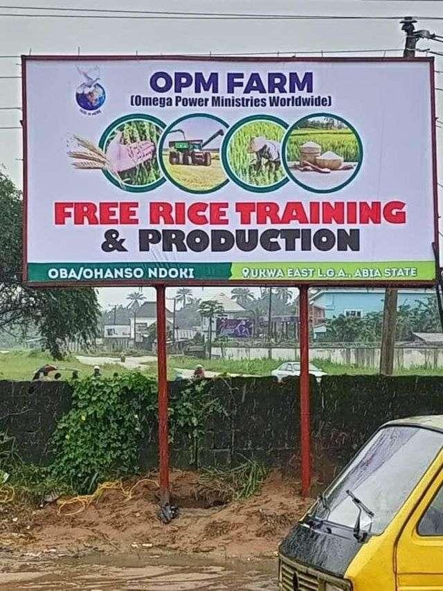 Apostle Chinyere Gift kicks off rice farming program in Ukwa East LGA