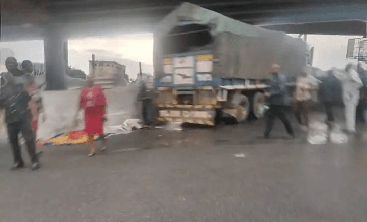 Truck crushes two students to death at Mile 1 Flyover