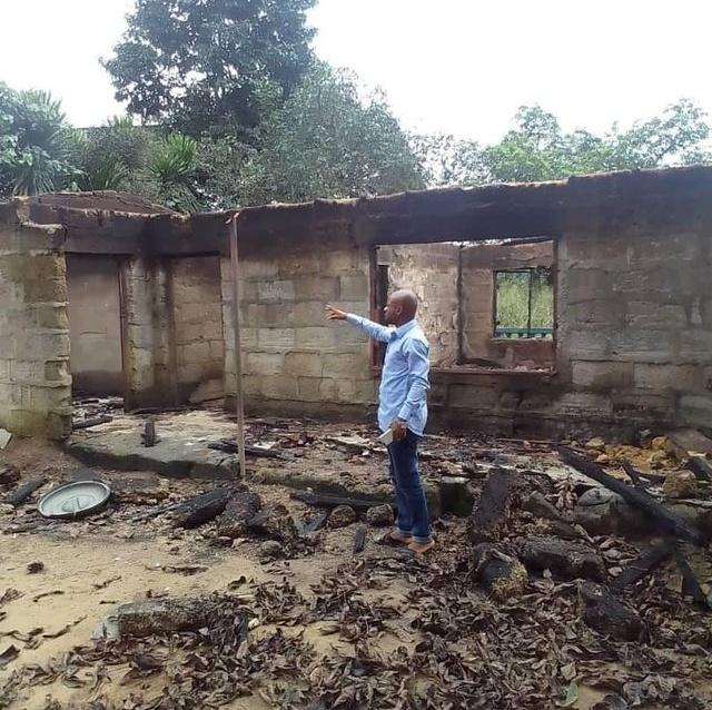 Tragedy in Abia as widow loses house in midnight fire