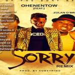 """Ohene Ntow To Release Remix Of His Hit Song """"Sorry"""" From His Born Prince Die King Album"""