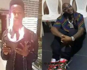 Meet Babs Cardini, The 19-Year-Old Magician Who Made Davido To Seat On The Floor (Photos)