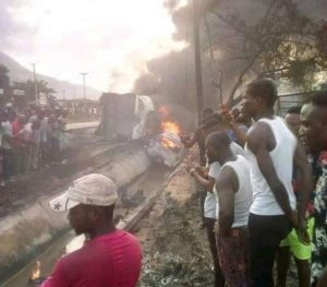 SAD! Family Of 6 Perish In Kogi Tanker Explosion As FRSC Confirms Death Of 23 Persons