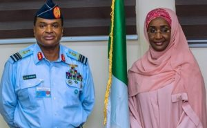 Breaking! Chief Of Air Staff Marries Minister Sadiya Umar-Farouq