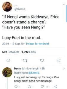 #BBNaija;lucy and erica
