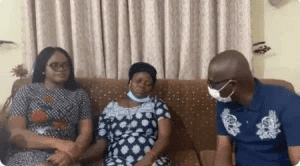 #EndSARS: Sanwo-Olu Visits Family Of Victim Killed By Police In Sululere Protest (Photo)