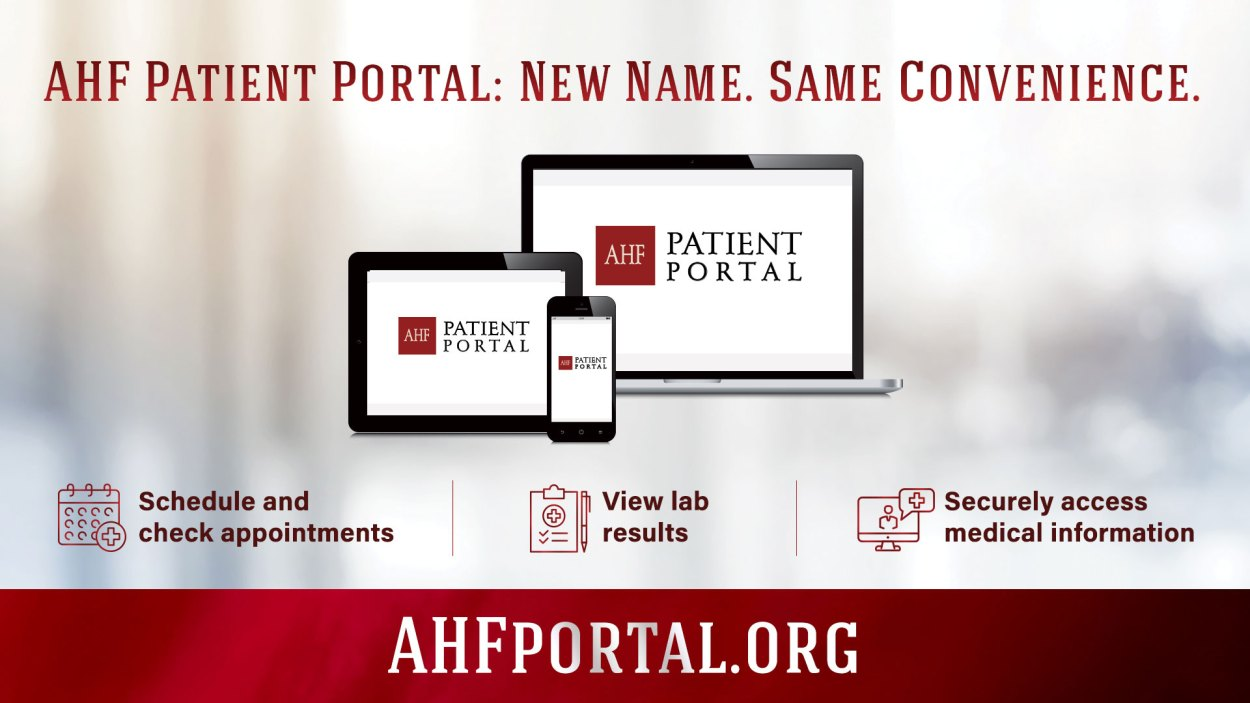 AHF portal