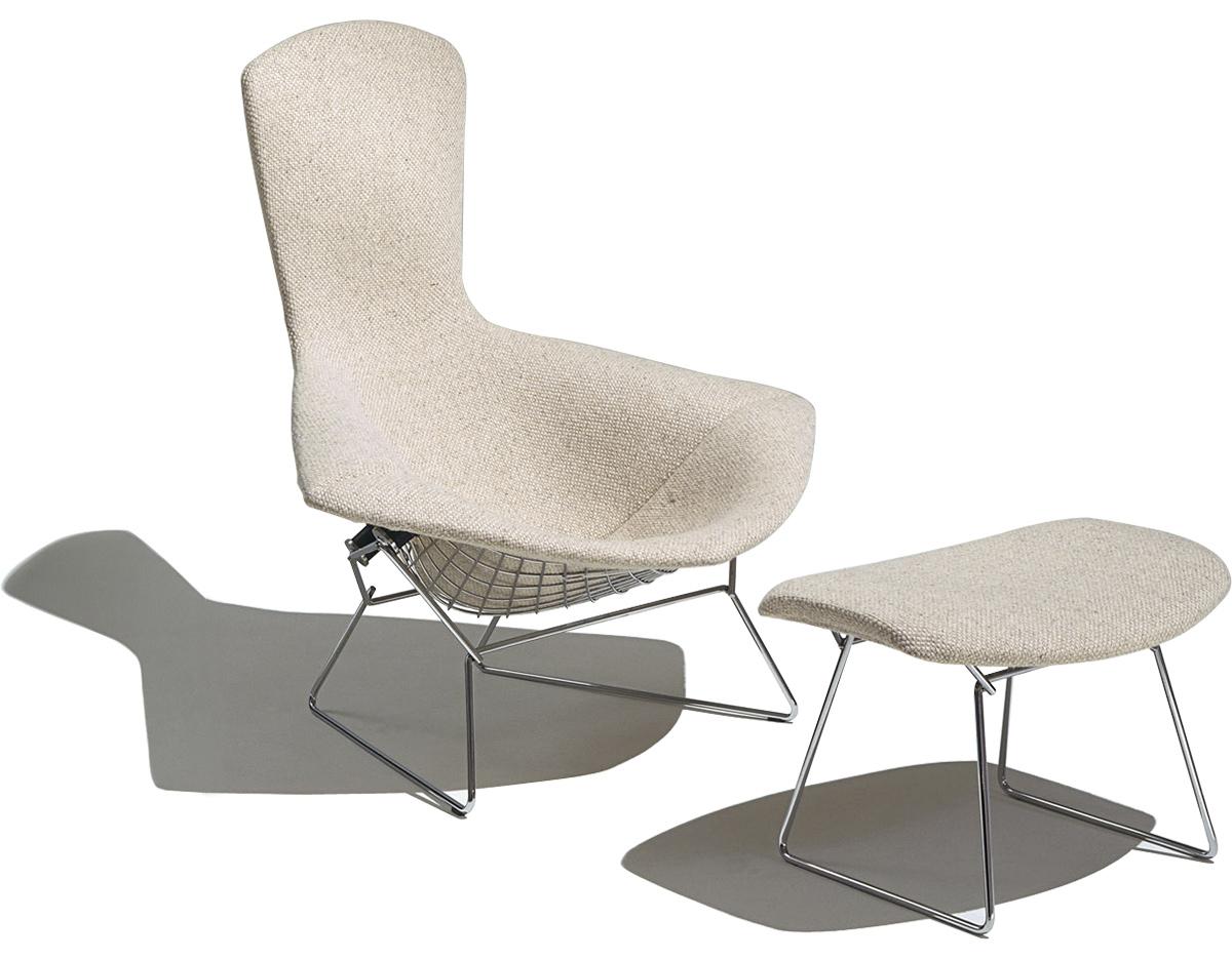 Bertoia Bird Chair Amp Ottoman