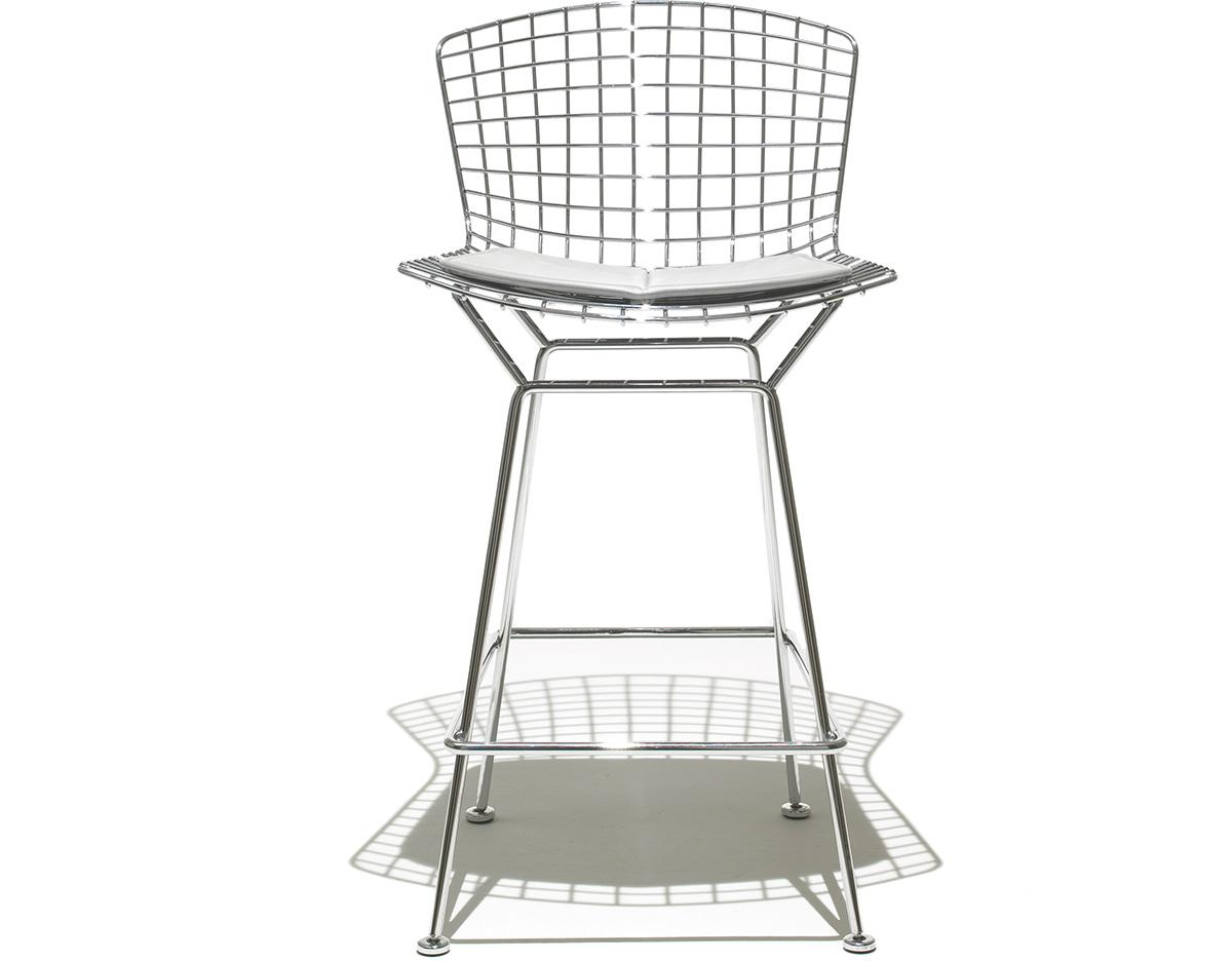 Bertoia Stool With Seat Cushion