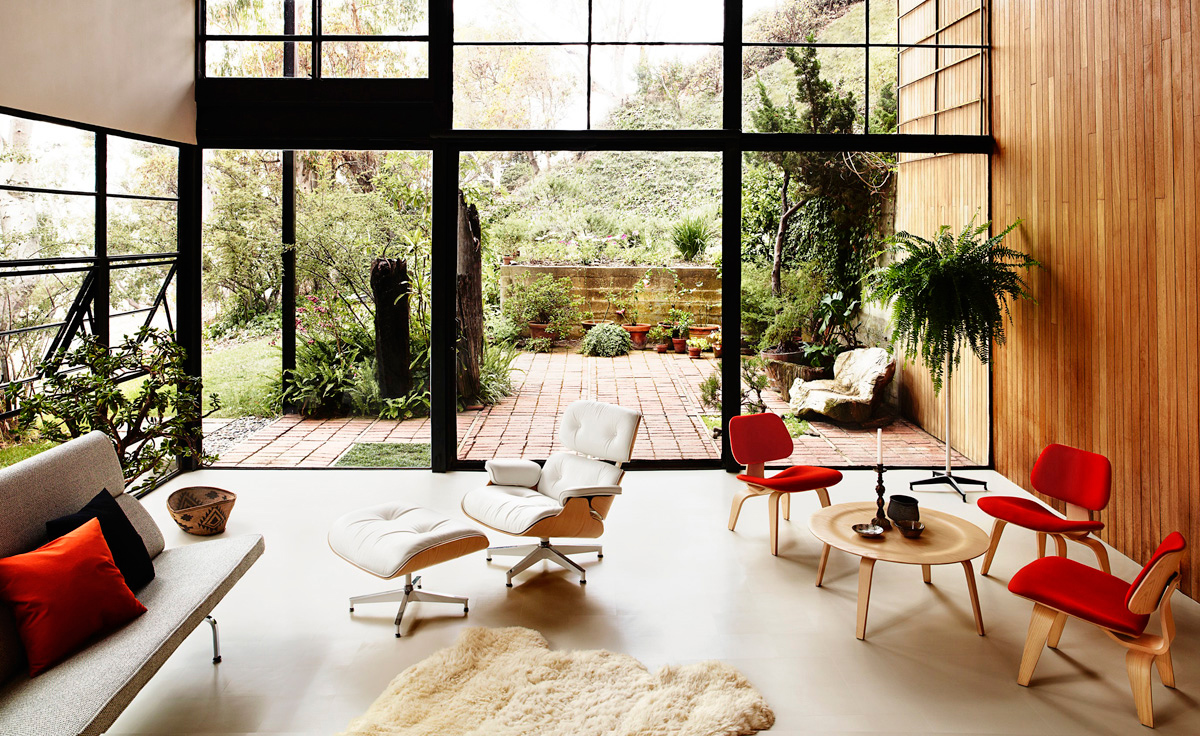 Eames Upholstered Lcw