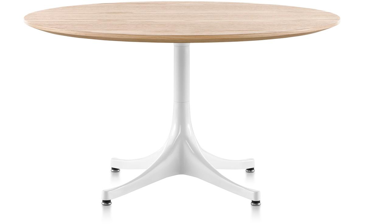 nelson pedestal table