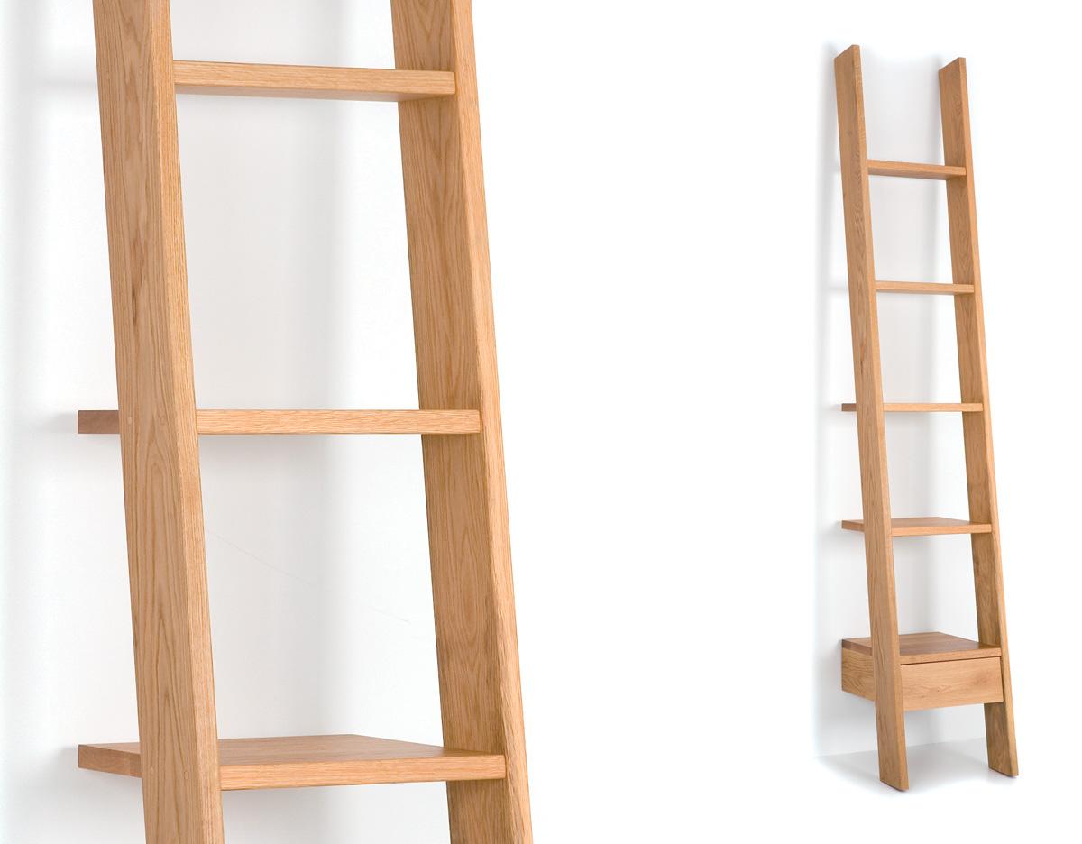 Ladder Bookcase 217