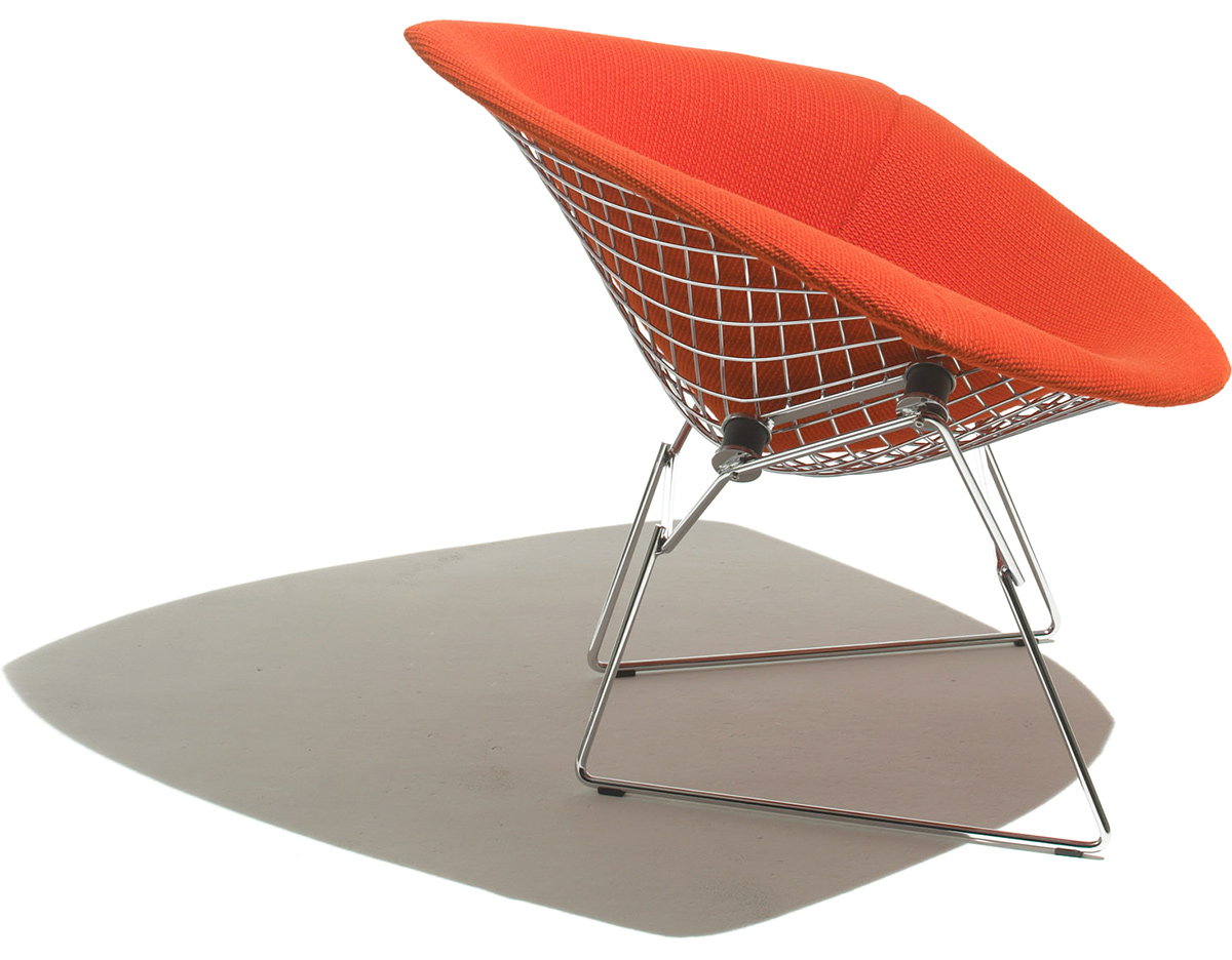 Peachy Knoll Bertoia Diamond Chair Full Cover Bertoia Small Squirreltailoven Fun Painted Chair Ideas Images Squirreltailovenorg