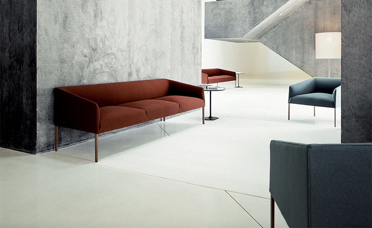 Saari Three Seat Sofa Hivemodern Com