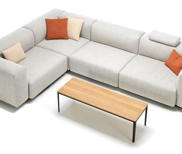 Soft Modular Sectional Sofa