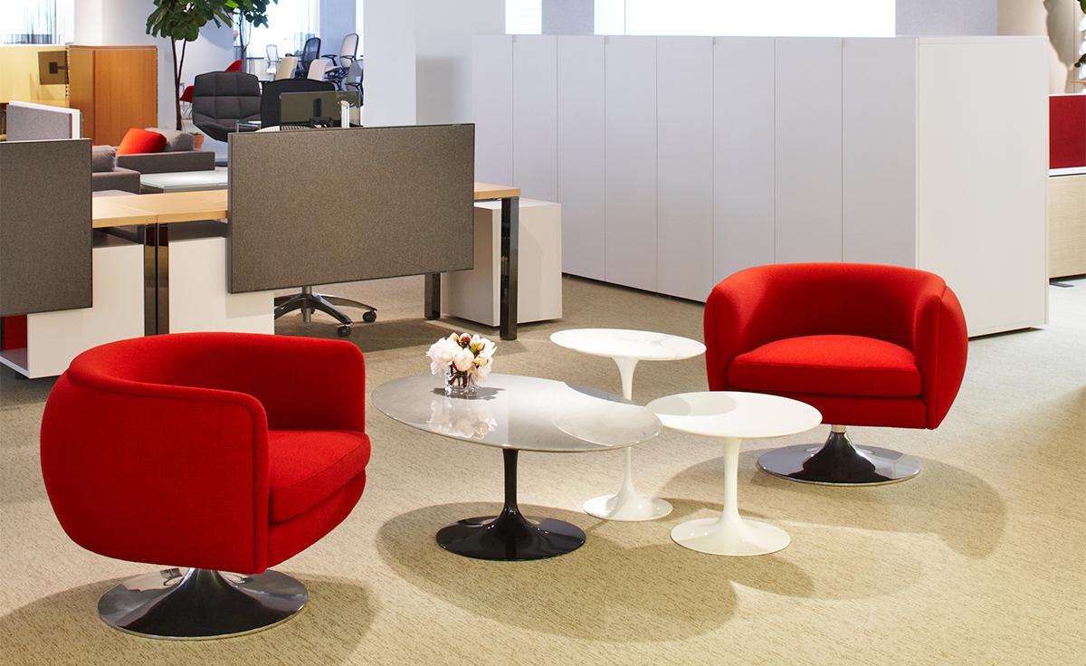 D Urso Swivel Lounge Seating Hivemodern Com