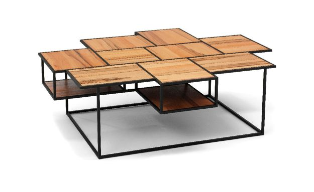 vanity coffee table - hivemodern