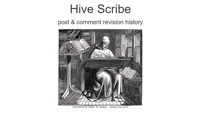 Hive Scribe
