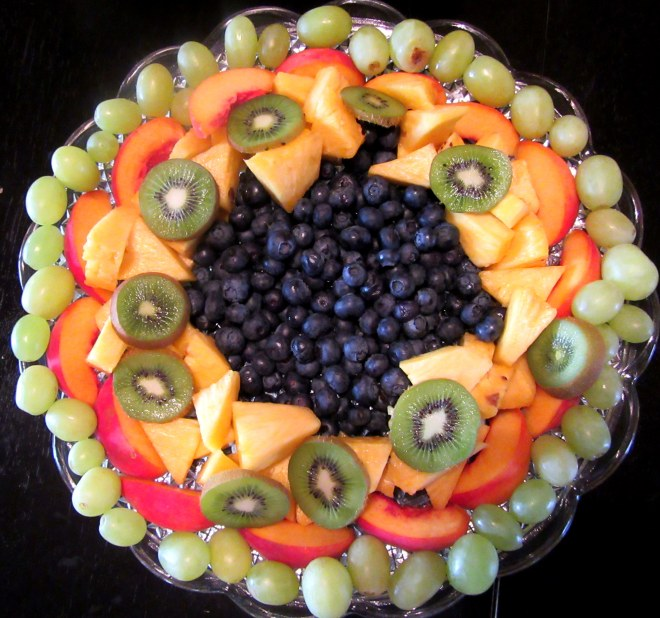 Italian Fruit Tray