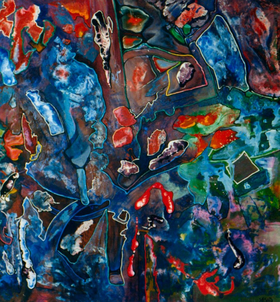 Adrienne Seed - Paintings Visual AIDS (6/6)