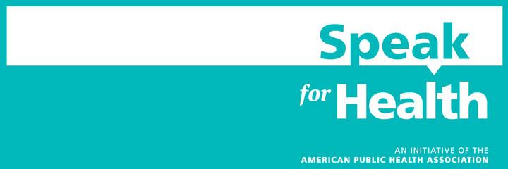 Speak for Health banner